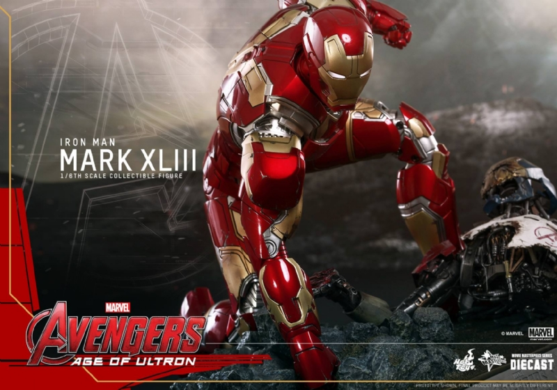 Get A Good Look At Iron Man's Avengers: Age Of Ultron Suit