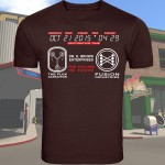 Maroon Back To the Future 2 T-Shirt