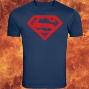 Superman Logo Blue And Red T-shirt