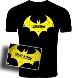 Im Batman T Shirt,Batman tshirts, batman arkham knight tshirts, ps4 tshirts, xbone tshirts, pc tshirts, amazing tshirts, movie tshirts,Batman, logo, rediesign, clothes, tshirts, mens, womens,