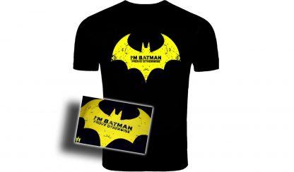 Im Batman T Shirt,Batman tshirts, batman arkham knight tshirts, ps4 tshirts, xbone tshirts, pc tshirts, amazing tshirts, movie tshirts,Batman, logo, rediesign, clothes, tshirts, mens, womens,