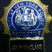 John McClane Badge