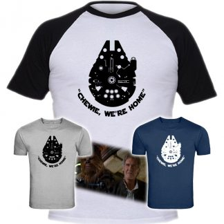 Star Wars Rebels. Ezra Logo, Sabine Logo, Star Wars Rebels Tshirt, ezra tshirt, sabine tshirt, star wars tshirt,Star Wars, Episode 7, Chewie, Han Solo, Chewie We're Home, Millenium Flacon T-Shirt