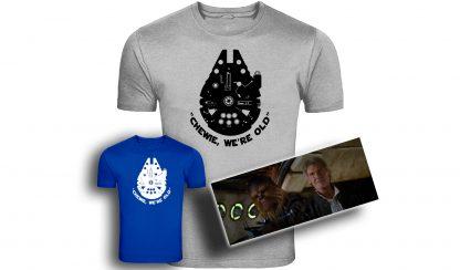 Star Wars Rebels. Ezra Logo, Sabine Logo, Star Wars Rebels Tshirt, ezra tshirt, sabine tshirt, star wars tshirt,Star Wars, Episode 7, Chewie, Han Solo, Chewie We're Home, Millenium Flacon T-Shirt