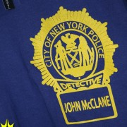Die Hard T-Shirt NYPD Front