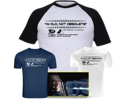 best terminator tshirts, best genisys tshirts, arnie, arnold, schwarzenegger, king boss terminator, t800, cyberdyne systems, smile, im old not obsolete,terminator 2 shirt cyberdyne systems t shirt, the terminator t shirt, cyberdyne t shirt, t shirt terminator, the terminator shirt