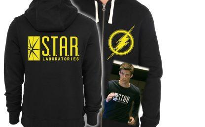 Star Labs T-shirt, Clothes, T-Shirt, DcComics, Barry Allen, Colourful, Original, Amazing