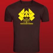 Die Hard (1988) Nakatomi Plaza Security Inspired T-Shirt Original Design Screenprinted
