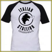 Rocky Balboa Inspired Italian Stallion Logo Redesign T-Shirt Quality Screenprinted