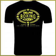 Rocky Balboa Creed (2015) Inspired Delphi Boxing Acadmey Logo T-Shirt Screenprinted