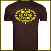 Rocky Balboa Creed (2015) Inspired Delphi Boxing Acadmey Logo T-Shirt Screenprinted