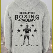 Rocky Balboa Creed (2015) Inspired Delphi Boxing Acadmey Hoodie Screenprinted