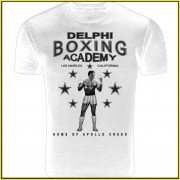 Rocky Balboa Creed Inspired Delphi Boxing Acadmey T-Shirt Quality Screenprinted